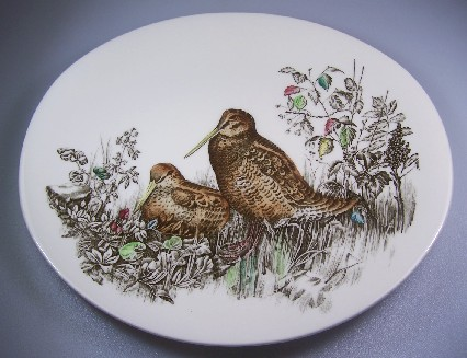 Make sure your browser can show photos and reload this page to see Johnson Brothers Dinnerware  Game Birds Dinner plate 11 1/8