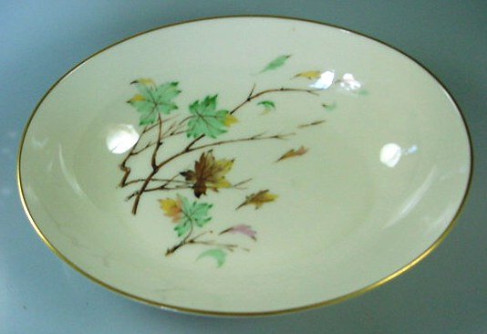 Make sure your browser can show photos and reload this page to see Lenox China Westwind X407 Oval vegetable 9-5/8