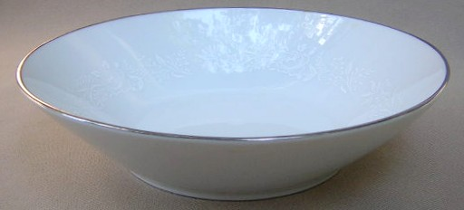 Make sure your browser can show photos and reload this page to see Noritake China Reina 6450q/64 Soup bowl, coupe shape  7 3/8