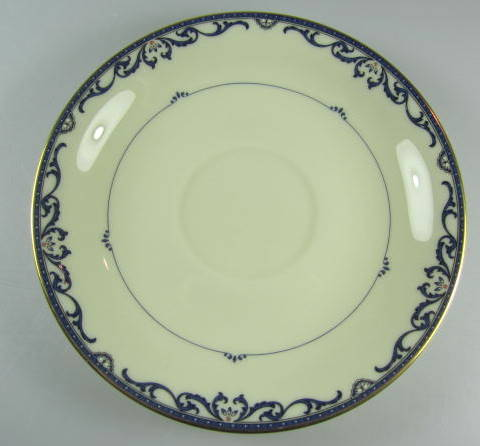 Make sure your browser can show photos and reload this page to see Lenox China Liberty Saucer only 5 5/8