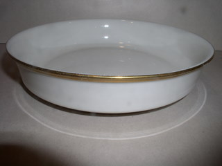 Make sure your browser can show photos and reload this page to see Lenox China Eternal Soup bowl, coupe shape --7 1/2