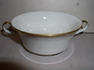 Make sure your browser can show photos and reload this page to see Lenox China Eternal Cream soup (bowl only)