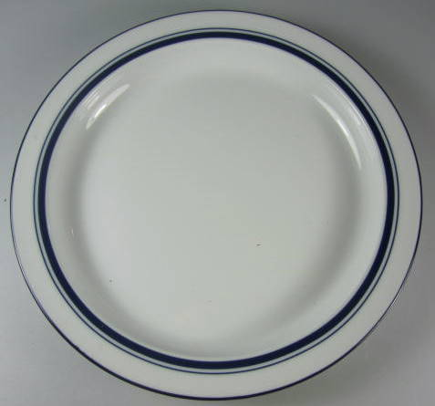 Make sure your browser can show photos and reload this page to see Dansk China Christianshavn - Blue Bread and butter plate thailand 7 1/4