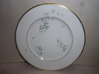 Make sure your browser can show photos and reload this page to see Lenox China Summer Breeze Bread and butter plate