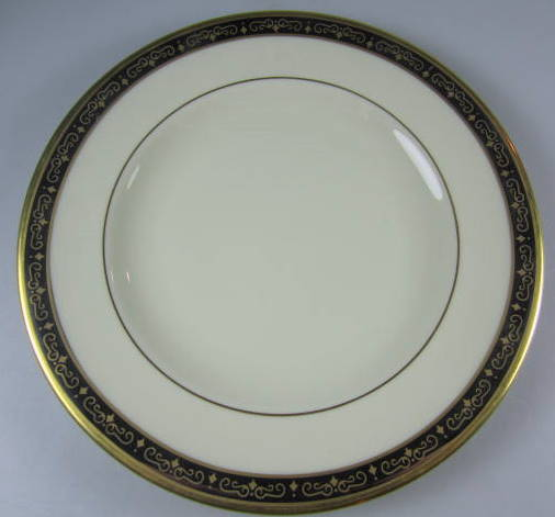 Make sure your browser can show photos and reload this page to see Pickard China Illusion 1085 Bread and butter plate 6 3/8