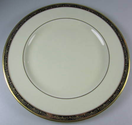 Make sure your browser can show photos and reload this page to see Pickard China Illusion 1085 Salad plate 8 3/8