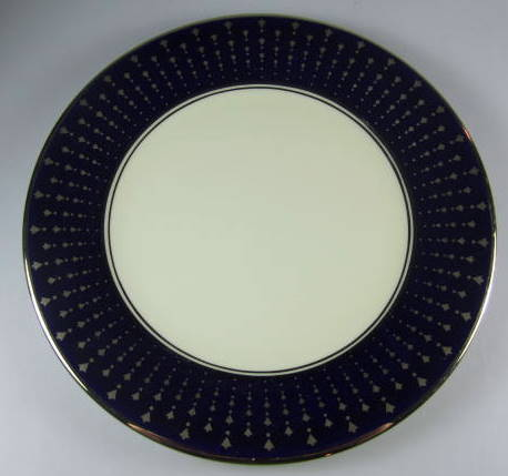 Make sure your browser can show photos and reload this page to see Pickard China Starbust Accent plate 8 3/8