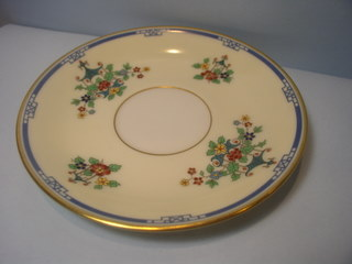 Make sure your browser can show photos and reload this page to see Lenox China Chippendale L306a Saucer only