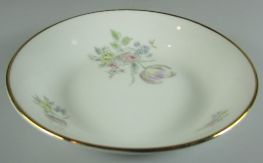 Make sure your browser can show photos and reload this page to see Hutschenreuther China Augsburg 8711 Fruit/dessert bowl   5 1/8
