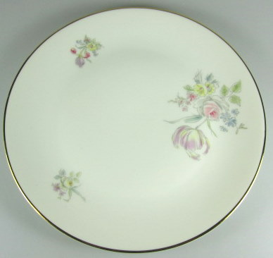 Make sure your browser can show photos and reload this page to see Hutschenreuther China Augsburg 8711 Salad plate  2