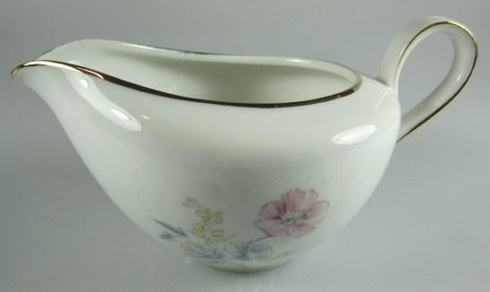 Make sure your browser can show photos and reload this page to see Hutschenreuther China Augsburg 8711 Creamer