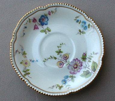 Make sure your browser can show photos and reload this page to see Castleton - USA China Sunnyvale  Demitasse (saucer only)  4 3/4