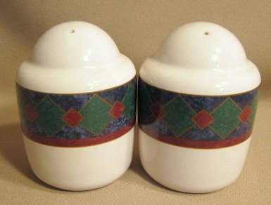 Make sure your browser can show photos and reload this page to see Pfaltzgraff China Amalfi Classic Salt and Pepper set