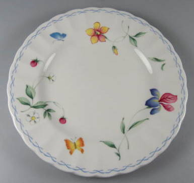 Make sure your browser can show photos and reload this page to see Mikasa China Sorrento CAJ09 Bread and butter plate 6 5/8
