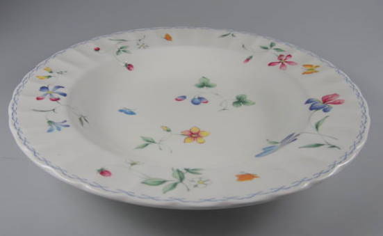 Make sure your browser can show photos and reload this page to see Mikasa China Sorrento CAJ09 Soup bowl, rim shape 9