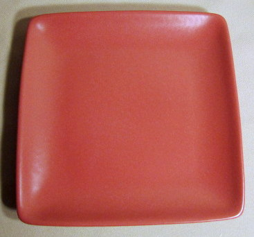 Make sure your browser can show photos and reload this page to see Noritake China Colorwave Raspberry 8045 Salad plate, square