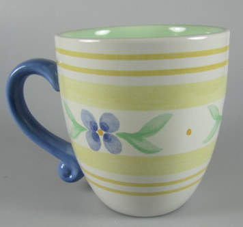 Make sure your browser can show photos and reload this page to see Pfaltzgraff China Summer Breeze Mug