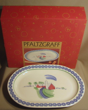 Make sure your browser can show photos and reload this page to see Pfaltzgraff China Sunnydale Platter, medium 14