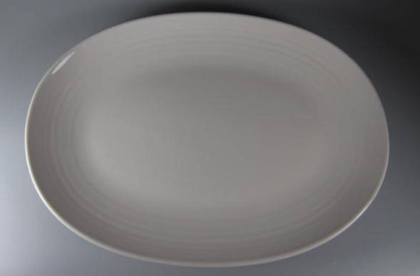 Make sure your browser can show photos and reload this page to see Pfaltzgraff China Simply White Circles Platter, medium  (gently used) 14