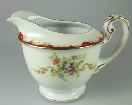 Make sure your browser can show photos and reload this page to see Harmony House China Wembley  Creamer  4