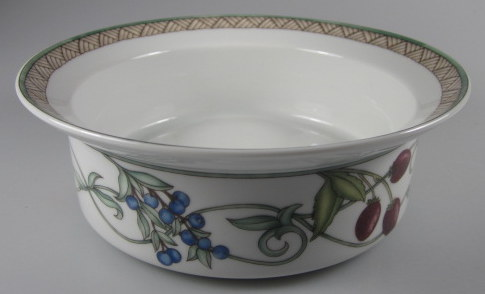 Make sure your browser can show photos and reload this page to see Dansk China Umbrian Fruits Cereal bowl /Fruit bowl 6 5/8