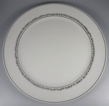 Make sure your browser can show photos and reload this page to see Block China Chateau Noir Dinner plate  10 3/*  Some minor scuffing