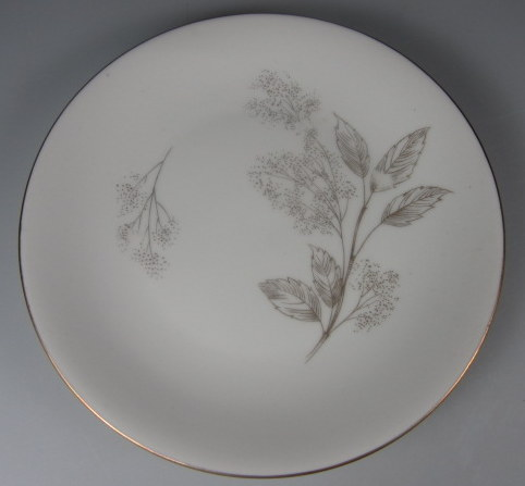 Make sure your browser can show photos and reload this page to see Hutschenreuther China #2382 Bread and butter plate  6 1/8