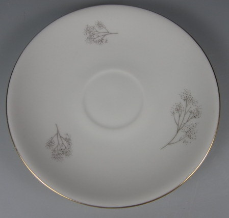 Make sure your browser can show photos and reload this page to see Hutschenreuther China #2382 Saucer only  5 5/8