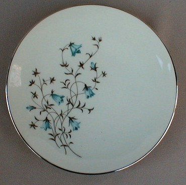 Make sure your browser can show photos and reload this page to see Flintridge China Belnor Bread and butter plate 6 1/4