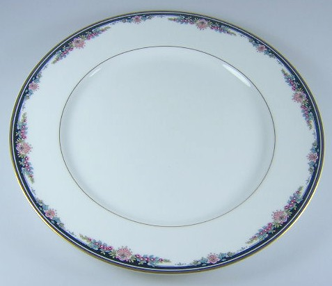 Make sure your browser can show photos and reload this page to see Gorham China Gorham Chantilly Dinner plate 10 3/4