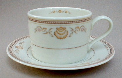 Make sure your browser can show photos and reload this page to see Gorham China Newport Cup and saucer set 3 1/4