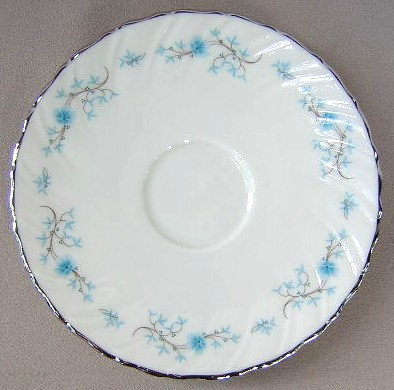 Make sure your browser can show photos and reload this page to see Lenox China Chanson D514 Saucer only (pre owned)