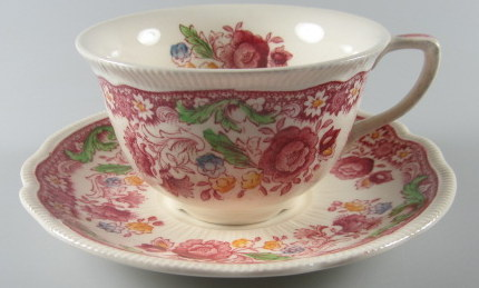 Make sure your browser can show photos and reload this page to see Johnson Brothers Dinnerware  Dorchester Cup and saucer set