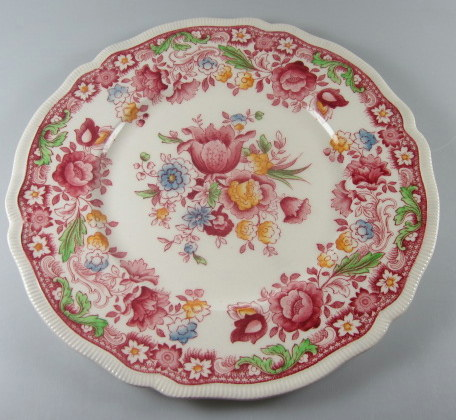 Make sure your browser can show photos and reload this page to see Johnson Brothers Dinnerware  Dorchester Dinner plate 10