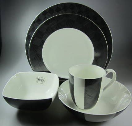 Make sure your browser can show photos and reload this page to see Noritake China Zinc 4854 Place setting 5-piece  dinner 11