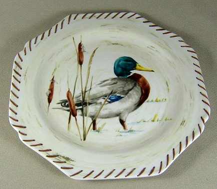Make sure your browser can show photos and reload this page to see Lenox China Riverwood Accent plate 9 3/8