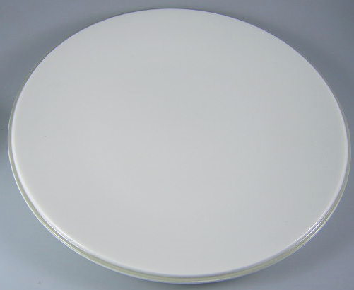 Make sure your browser can show photos and reload this page to see Lenox China Ubiquity Willow Green Coupe Dinner plate 11 1/4