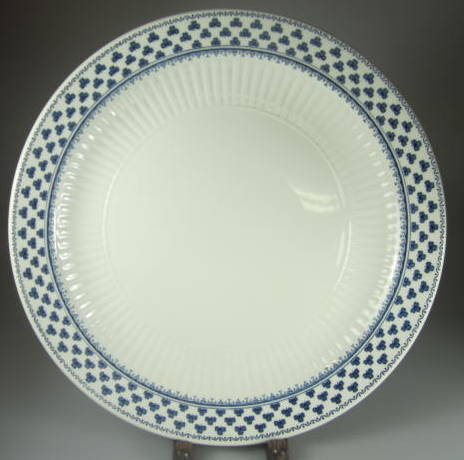 Make sure your browser can show photos and reload this page to see Adams China Brentwood  Dinner plate (pre owned) Adams Backstamp