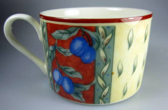 Make sure your browser can show photos and reload this page to see Interiors Dinnerware Provence Cup only (no saucer)