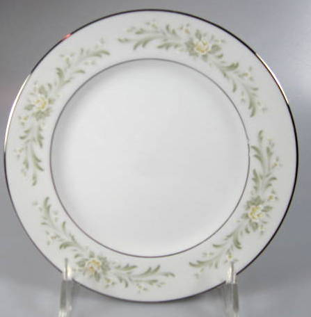 Make sure your browser can show photos and reload this page to see Grace China Rhapsody Bread and butter plate  6 3/4
