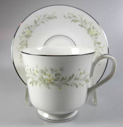 Make sure your browser can show photos and reload this page to see Grace China Rhapsody Cup and saucer set  3 1/8
