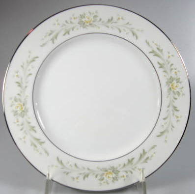 Make sure your browser can show photos and reload this page to see Grace China Rhapsody Salad plate  7 3/4