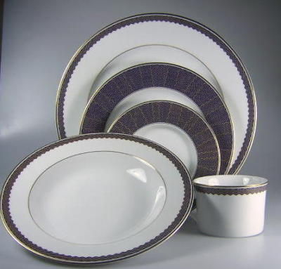 Make sure your browser can show photos and reload this page to see Mikasa China Regal Gala L3170 Place setting 5-piece