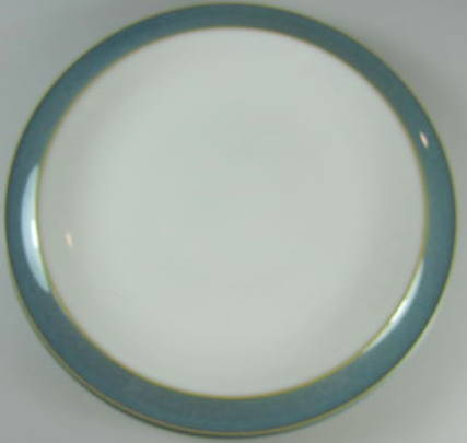 Make sure your browser can show photos and reload this page to see Denby - Langley China Azure Bread and butter plate  7 3/8