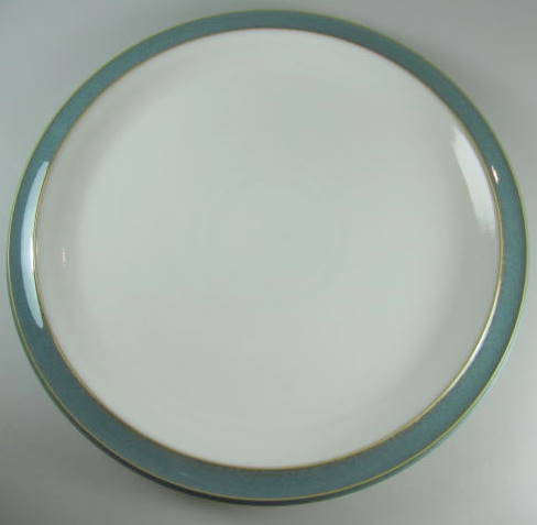 Make sure your browser can show photos and reload this page to see Denby - Langley China Azure Dinner plate  11