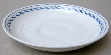 Make sure your browser can show photos and reload this page to see Adams China Baltic Saucer only 5 7/8