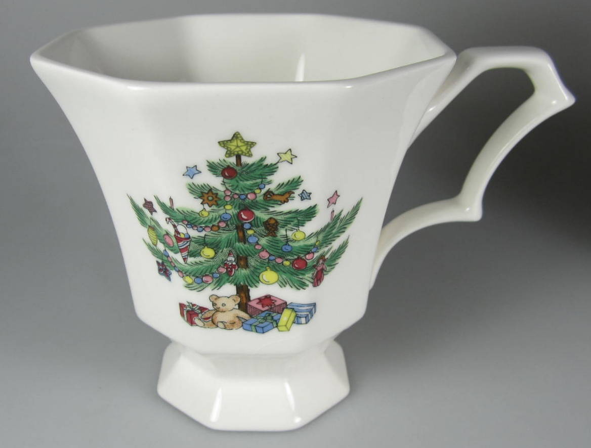 Make sure your browser can show photos and reload this page to see Nikko Dinnerware Christmastime 259 Cup only (no saucer)