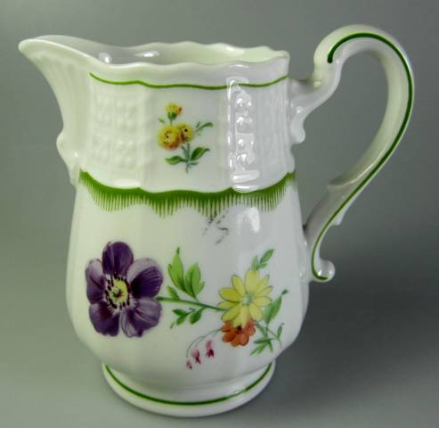 Make sure your browser can show photos and reload this page to see Heinrich / H & C China Chambord Creamer  3 7/8