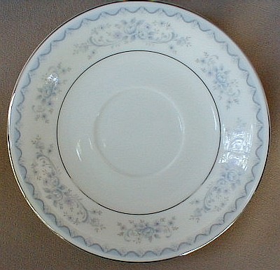 Make sure your browser can show photos and reload this page to see Mikasa China Sabrina L6204 Saucer only