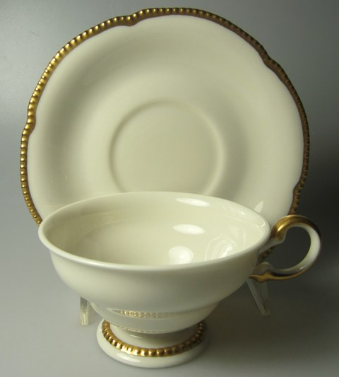 Make sure your browser can show photos and reload this page to see Castleton - USA China Sovereign Cup and saucer set  2 1/4